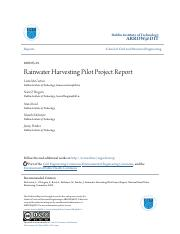 Rainwater Harvesting Pilot Project Report.pdf