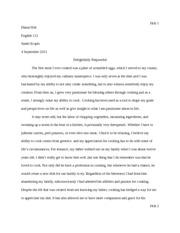 take-home essay exam
