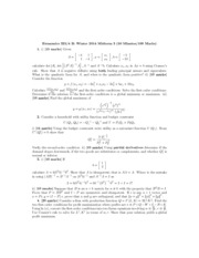 Midterm 3 Econ 325 Winter 2014 Answers