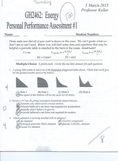 Personal Performance Assessment 1