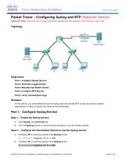 8.1.2.5 Packet Tracer - Configuring Syslog and NTP Instructions - IG.pdf
