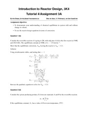 3K4-2013-Assignment-3A-Solutions