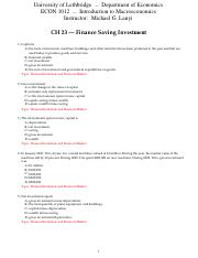 CH-23-Finance-Saving-Investment