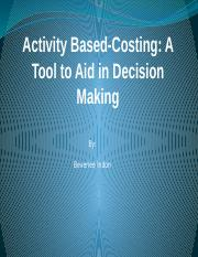 Management Accounting Chap.7 - Activity-Based Costing.pptx