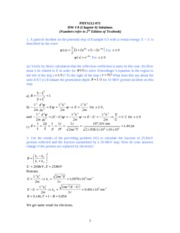 PHYS212-071 HW-8 Solution
