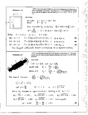 278_Mechanics Homework Mechanics of Materials Solution