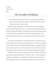 parable of pullman