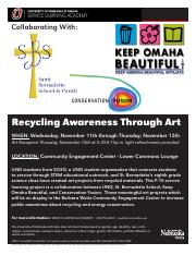 RecyclingAwarenessFlyer