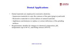AMSE 216-Lecture Note-6-Dental Applications [ȣȯ 모드]