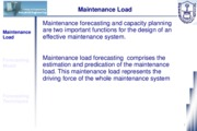 Class 09 - Forcasting Maintenance Workload