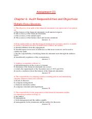 Solution Assignment (1)