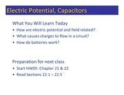 Class 061 - Potential and Charge Flow