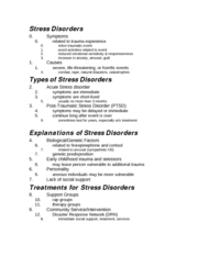 Stress Disorders-1