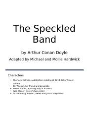 02 The Speckled Band.docx
