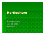 Microsoft PowerPoint - Horticulture May 22, 2009