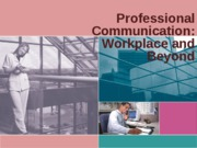 PPT - Workplace Communication STUDENT VERSION