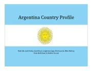 Argentina Country Profile