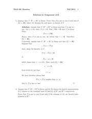 MATH 60 Fall 2014 Assignment 19 Solutions
