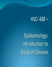 Lecture 1 - Definition, Applications and History of Epidemiology.pdf