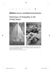 Dimensions of Inequality in the United States