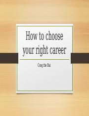 How to choose your right career.pptx