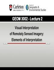 GEOM 3002_L2_2015_Elements of Interp