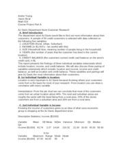 math 533 Course Project Part A