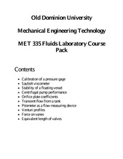 MET 335 Course Pack