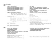 MIS - SQL Cheat Sheet