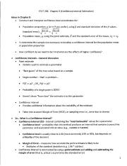 STAT 206 Chapter 8 Notes (1)