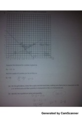 graphing supply and deman