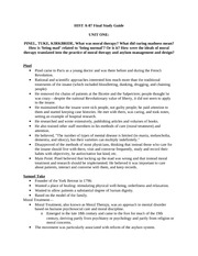 Hist A87 Final Study Guide
