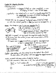 Physics notes  Faraday's Law