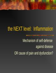 1 3220 13 Inflammation and Fever.ppt