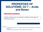 2010-02-22 - Weak Acids and Bases