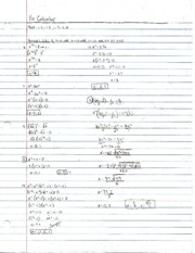 Pre-Calculus Section 1.5 Practice Problems 2