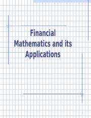 8. Topic 4 Financial Maths.ppt