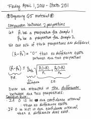 Quiz 5 lecture notes and study guide