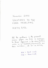 M342-2011ExamSolutions1