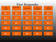 FirstResponder Jeopardy