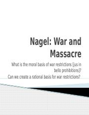 Nagel War and Massacre.pptx