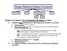EECE 522 Notes_20 LS Single-Platform Location