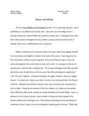 Final english essay, Junius maltby