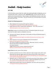 macbeth study guide student copy answers car owners manual u2022 rh karenhanover co MLA Format Questions and Answers Question and Answer Format Paper