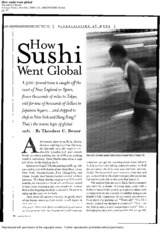 How Sushi Went Global