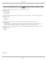 7_302_mathematical solution -Interactive Video Quiz.pdf