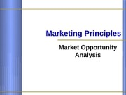 Mktg Opportunity Analysis