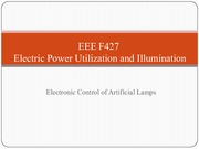 EEE F427 - Lecture 12