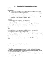 Corp II Capital Budgeting MM Assumption Notes.docx