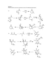 CHEM 30 Fall 2014 Practice Problems Enols and Enolates II Solutions